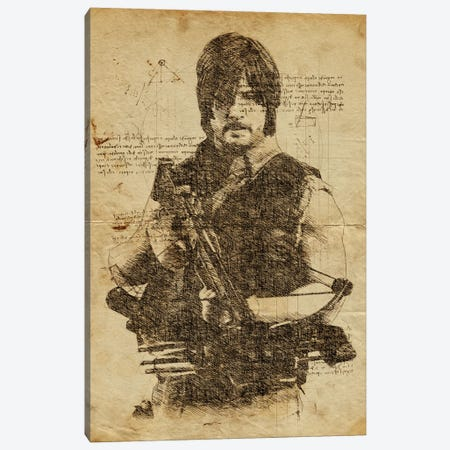 Dixon Davinci Canvas Print #DUR610} by Durro Art Canvas Wall Art