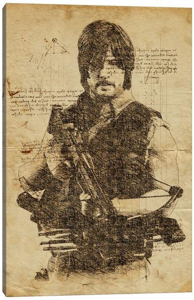 Dixon Davinci Canvas Art Print