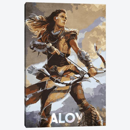 Aloy Canvas Print #DUR62} by Durro Art Canvas Wall Art