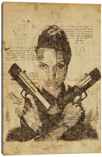 Tomb Raider Davinci Canvas Art Print