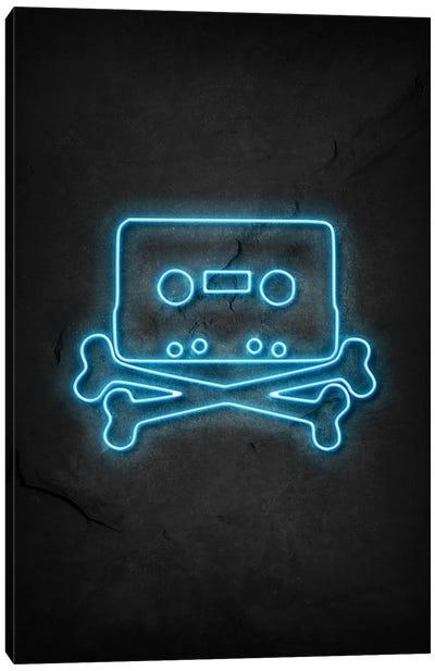Pirate Bay Neon Canvas Art Print