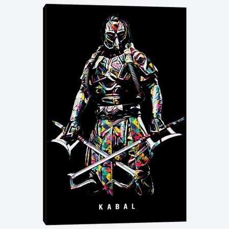 Kabal Canvas Print #DUR650} by Durro Art Canvas Wall Art