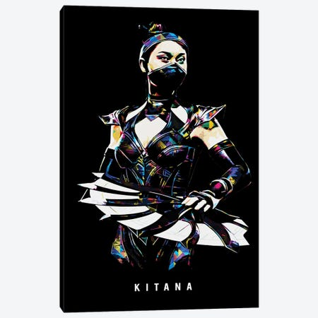 Kitana Canvas Print #DUR651} by Durro Art Canvas Wall Art