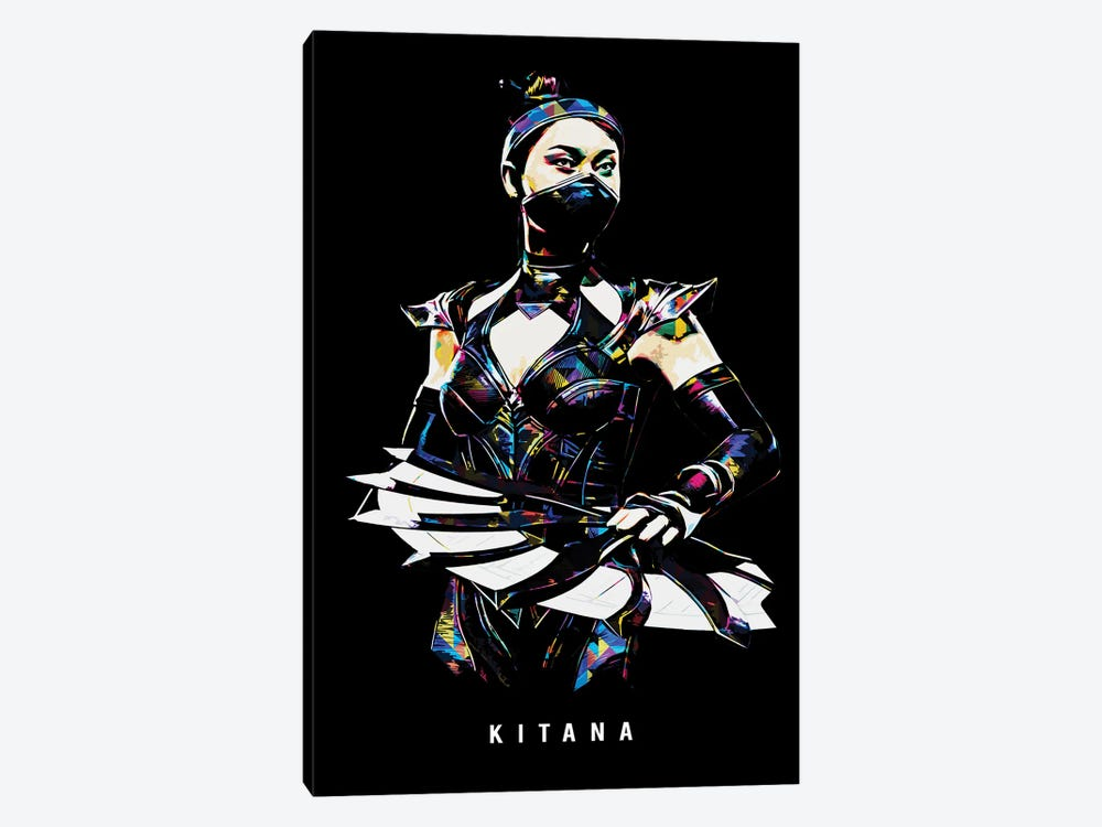 Kitana by Durro Art 1-piece Canvas Art