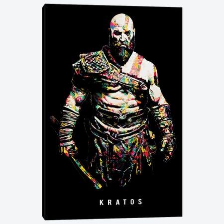 Kratos I Canvas Print #DUR653} by Durro Art Canvas Artwork