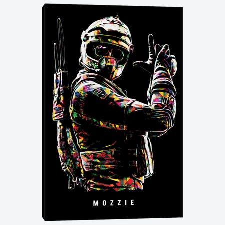 Mozzie Canvas Print #DUR655} by Durro Art Canvas Print