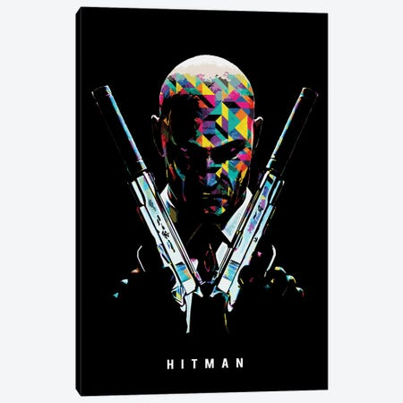 Hitman 2 Canvas Print #DUR658} by Durro Art Canvas Artwork