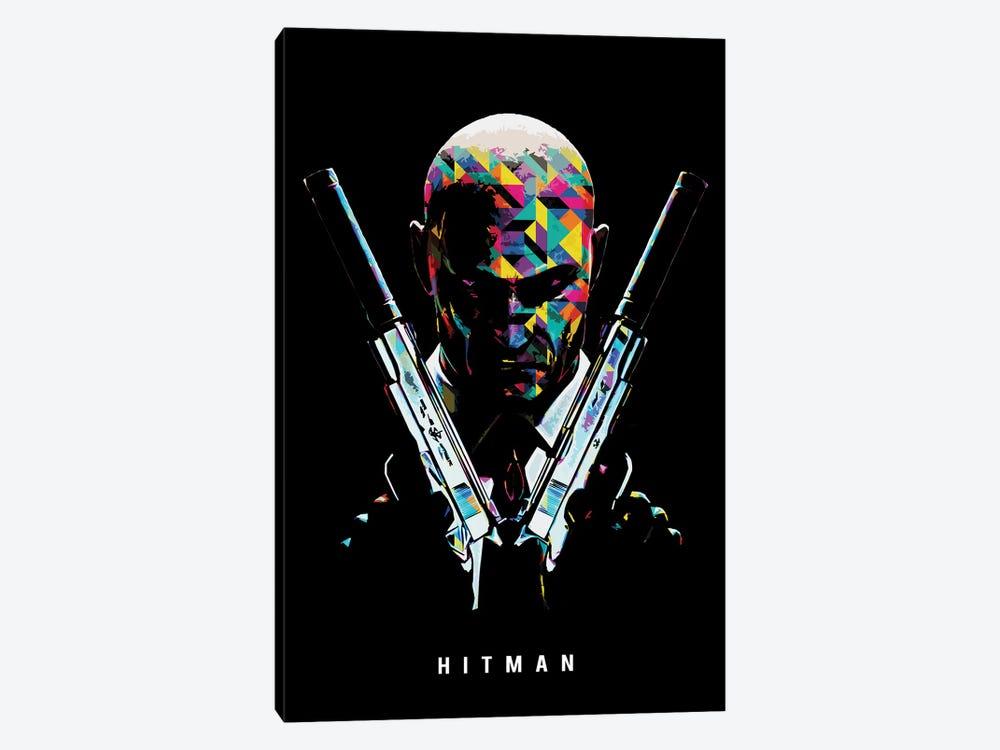 Hitman 2 by Durro Art 1-piece Canvas Art Print