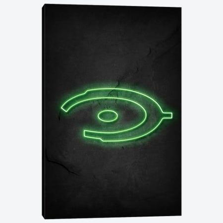 Halo Neon Canvas Print #DUR675} by Durro Art Art Print