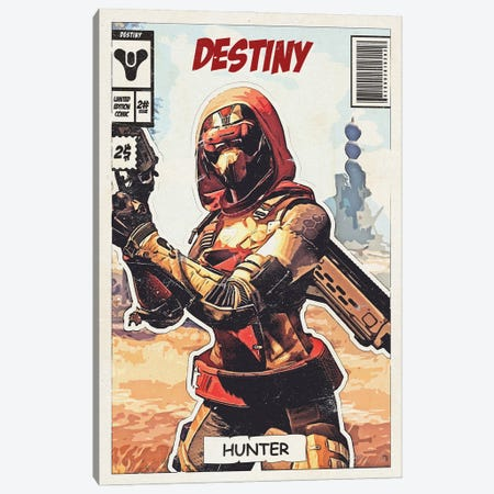 Destiny Comic Canvas Print #DUR680} by Durro Art Art Print