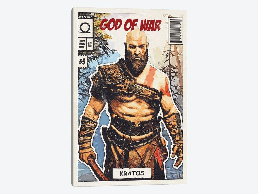 Kratos Comic by Durro Art 1-piece Art Print