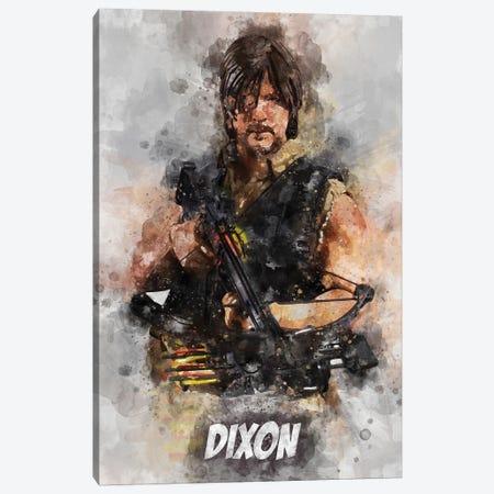 Dixon Watercolor II Canvas Print #DUR690} by Durro Art Canvas Artwork