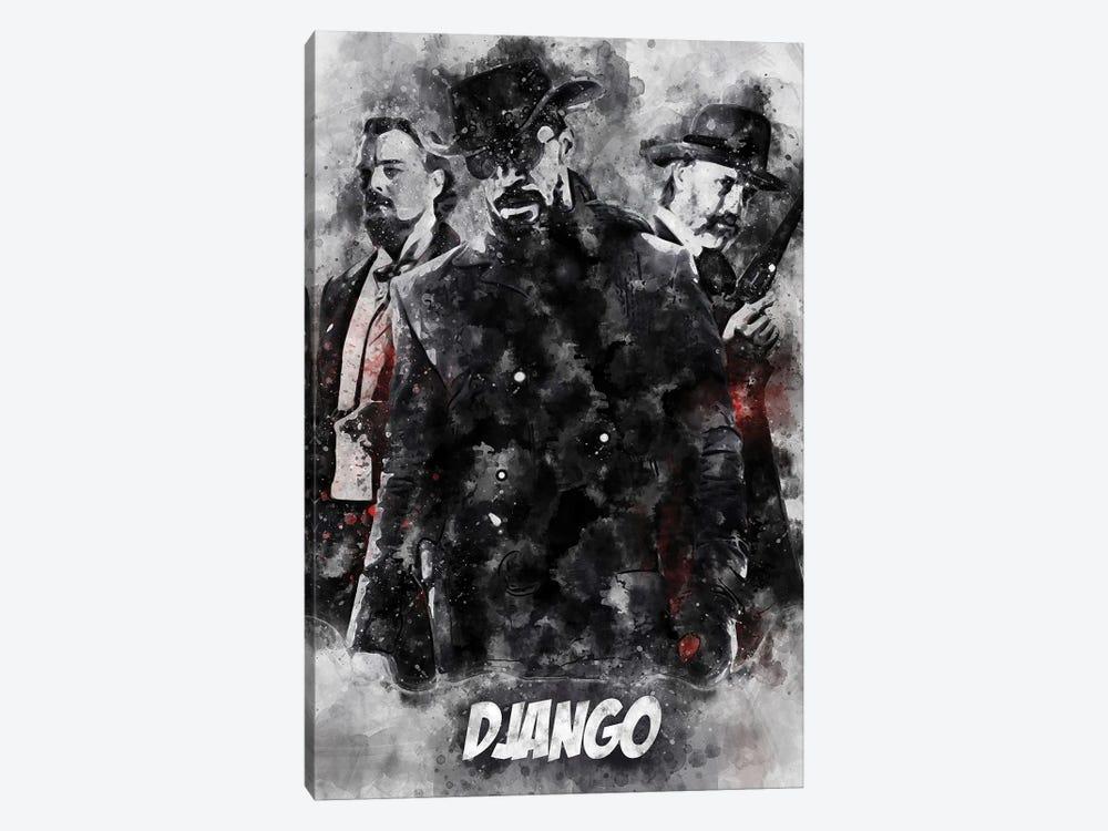 Django Watercolor II by Durro Art 1-piece Canvas Art
