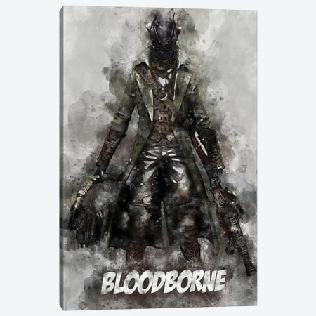 Bloodborne Watercolor II Canvas Print #DUR699} by Durro Art Canvas Wall Art