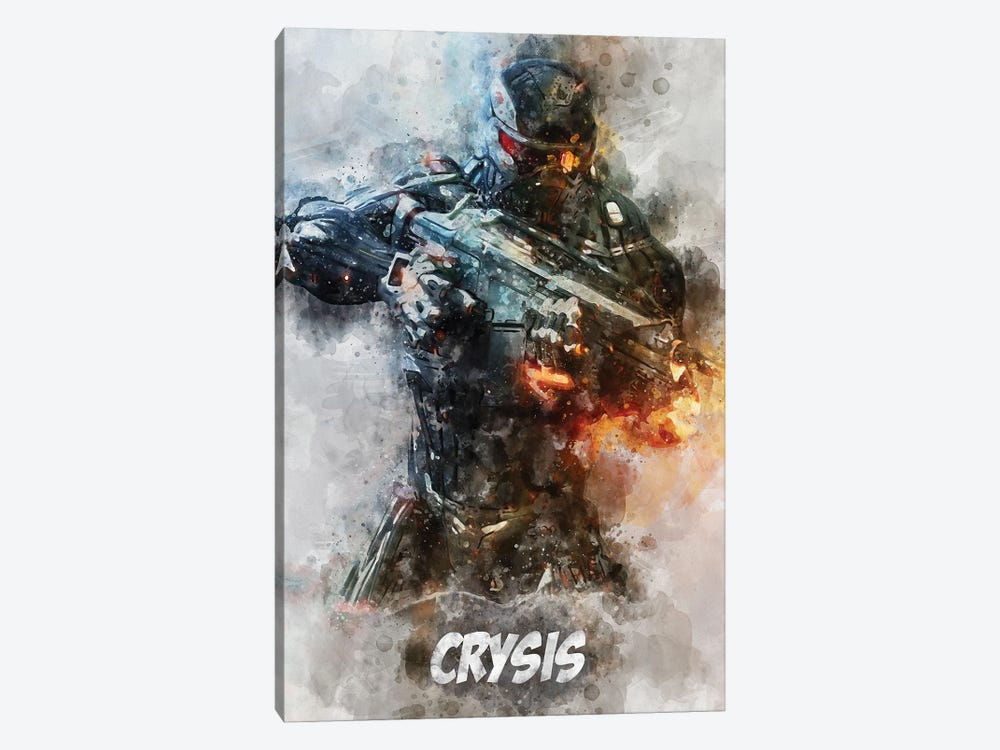 Crysis Watercolor II by Durro Art 1-piece Canvas Print
