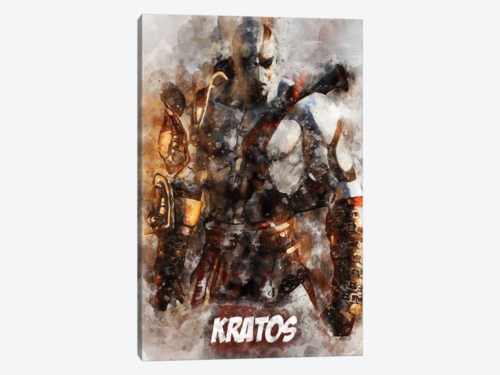 Kratos Watercolor II by Durro Art 1-piece Art Print