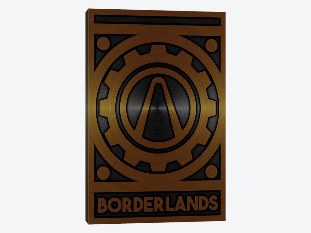 Borderlands Gold by Durro Art 1-piece Canvas Print