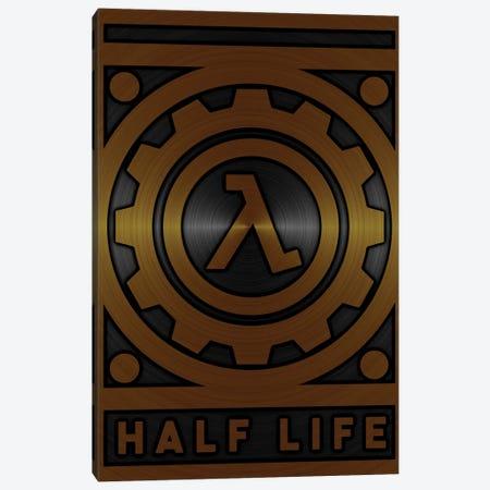 Half Life Gold Canvas Print #DUR714} by Durro Art Canvas Art