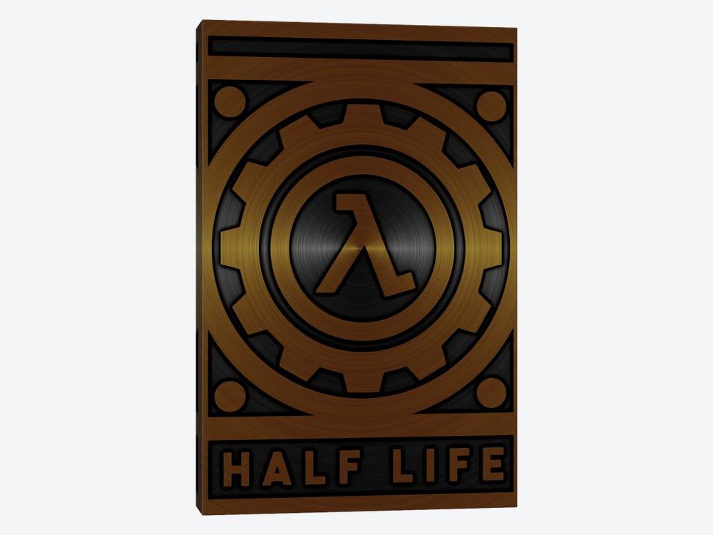 Half Life Gold by Durro Art 1-piece Canvas Art