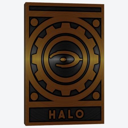 Halo Gold Canvas Print #DUR715} by Durro Art Canvas Wall Art