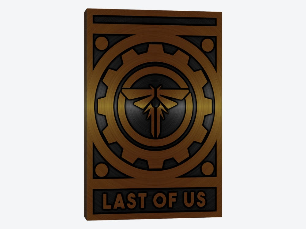Last Of Us Gold 1-piece Art Print