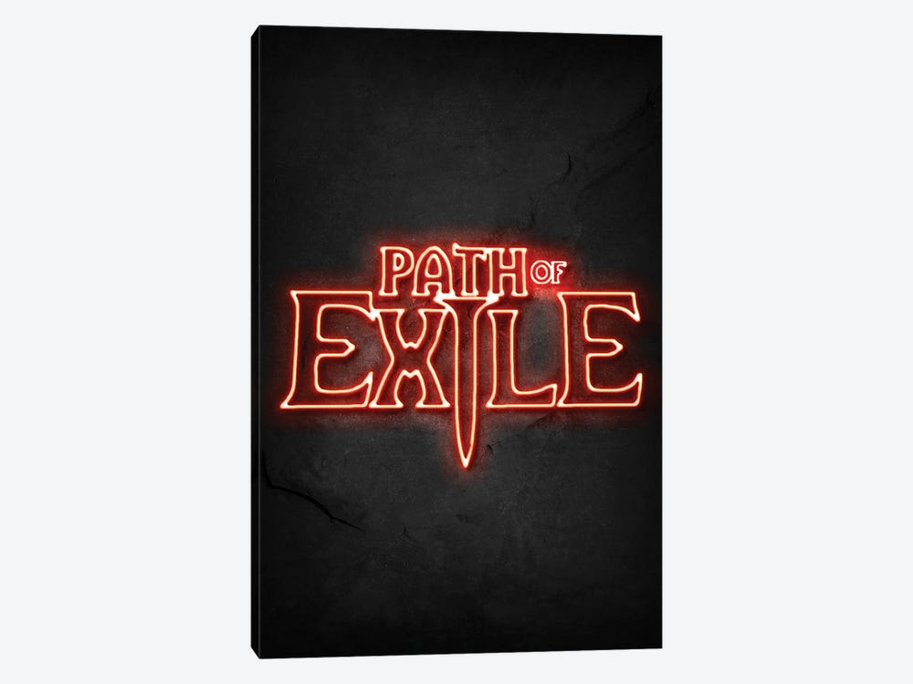 Path Of Exile Neon by Durro Art 1-piece Art Print