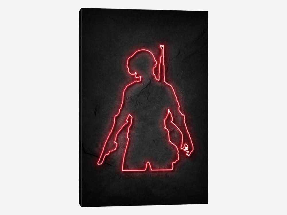 Pubg Soldier 2 Neon by Durro Art 1-piece Canvas Artwork