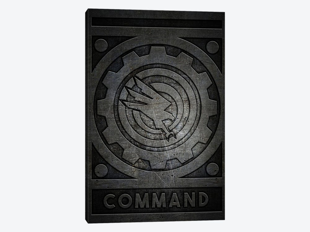 Command Metal by Durro Art 1-piece Canvas Print
