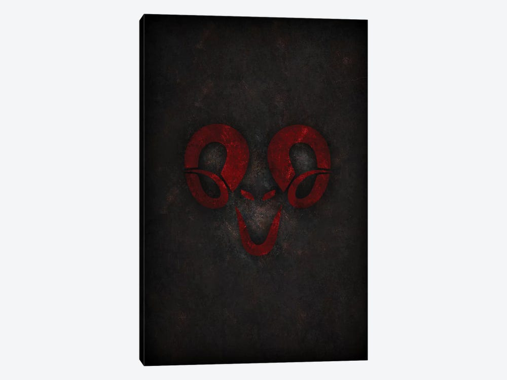 Aries by Durro Art 1-piece Canvas Print