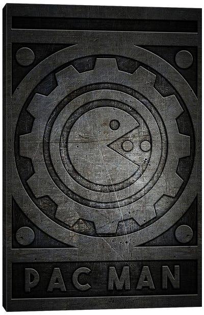 Pac Man Metal Canvas Art Print