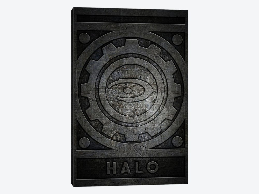 Halo Metal by Durro Art 1-piece Canvas Print