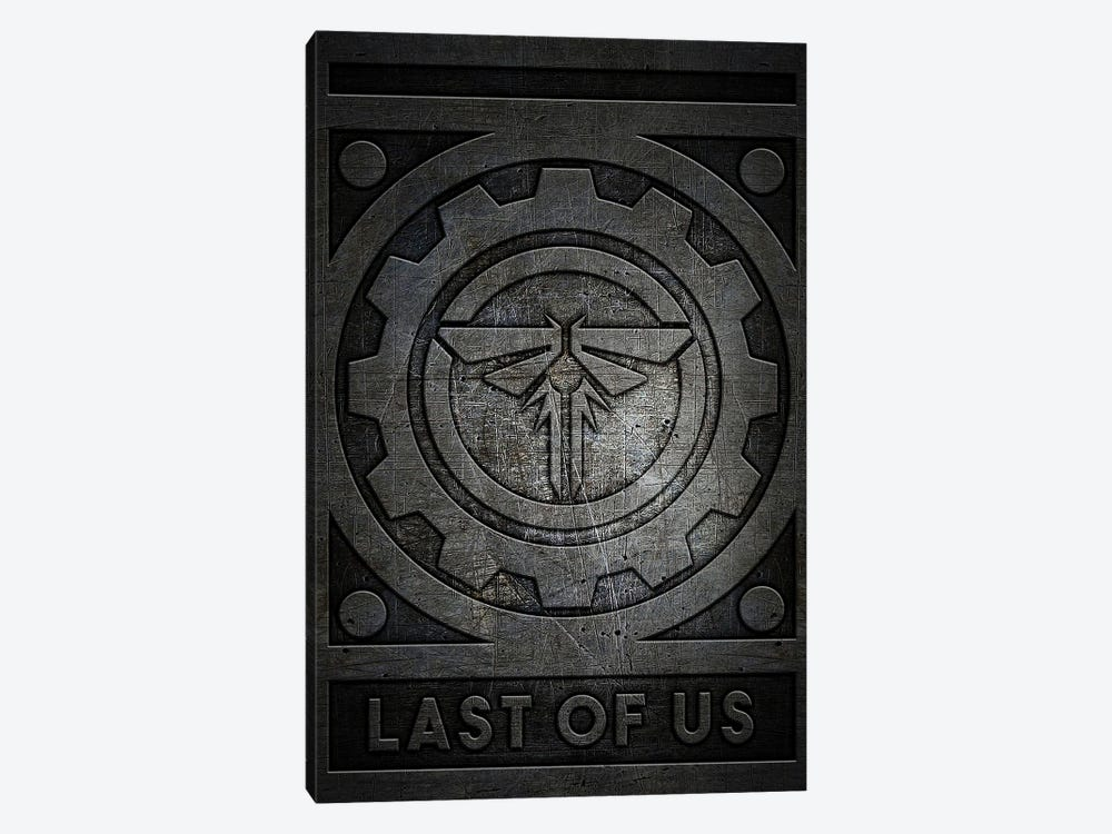 Last Of Us Metal by Durro Art 1-piece Canvas Print