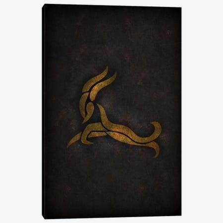Capricorn Canvas Print #DUR77} by Durro Art Canvas Artwork