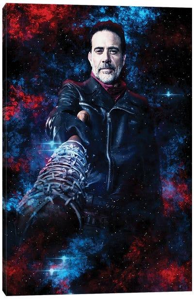 Negan Nebula Canvas Art Print