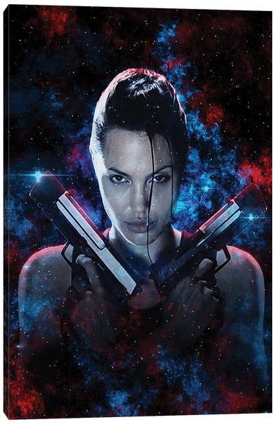 Tomb Raider Nebula Canvas Art Print