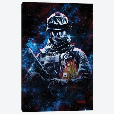 Battlefield Nebula Canvas Print #DUR814} by Durro Art Canvas Art Print