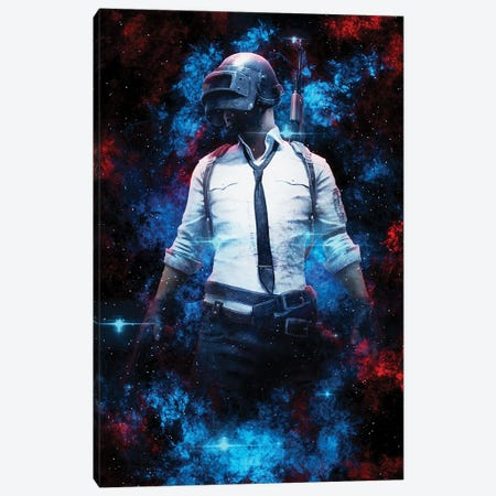 PUBG Nebula Canvas Print #DUR825} by Durro Art Canvas Wall Art
