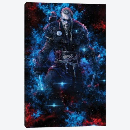 Valhalla Nebula Canvas Print #DUR829} by Durro Art Canvas Art Print