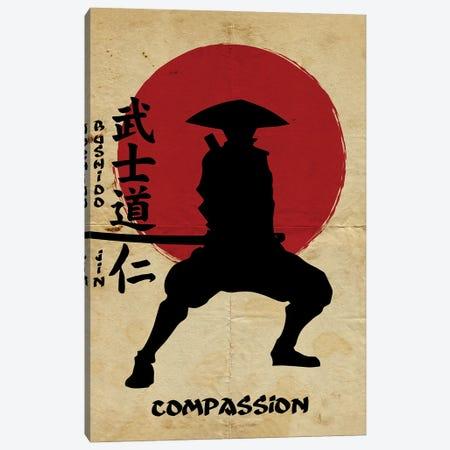 Bushido Compassion Canvas Print #DUR831} by Durro Art Canvas Art