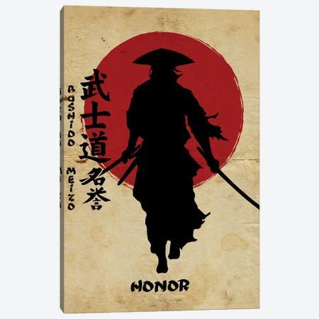 Bushido Honor Canvas Print #DUR834} by Durro Art Canvas Print