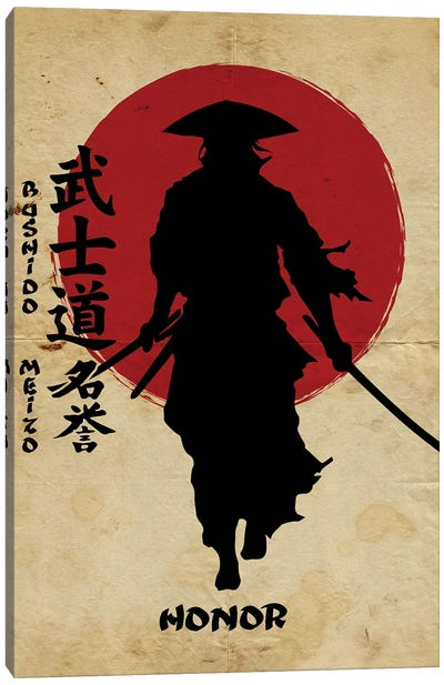Bushido Honor Canvas Art Print