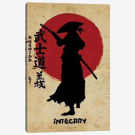 Bushido Integrity Canvas Print #DUR835} by Durro Art Canvas Print