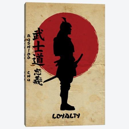Bushido Loyalty Canvas Print #DUR836} by Durro Art Canvas Art Print