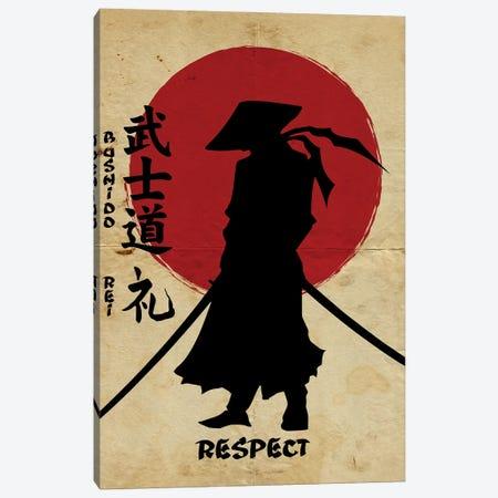 Bushido Respect Canvas Print #DUR837} by Durro Art Canvas Art Print