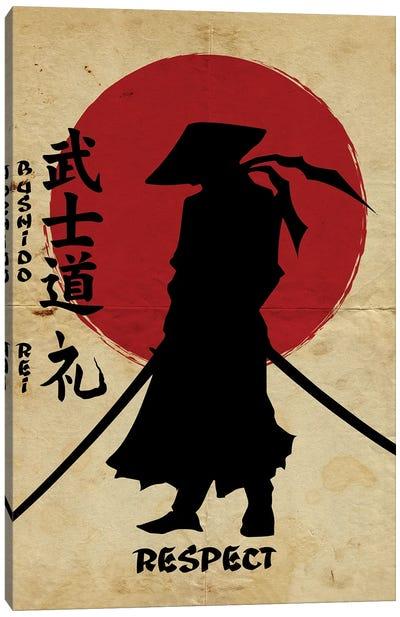 Bushido Respect Canvas Art Print