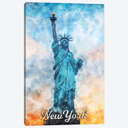 New York II Canvas Print #DUR841} by Durro Art Canvas Art Print