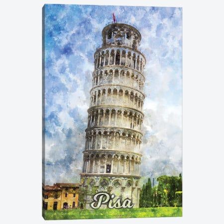 Pisa Canvas Print #DUR846} by Durro Art Canvas Art