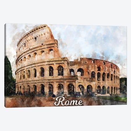 Rome Canvas Print #DUR847} by Durro Art Canvas Wall Art