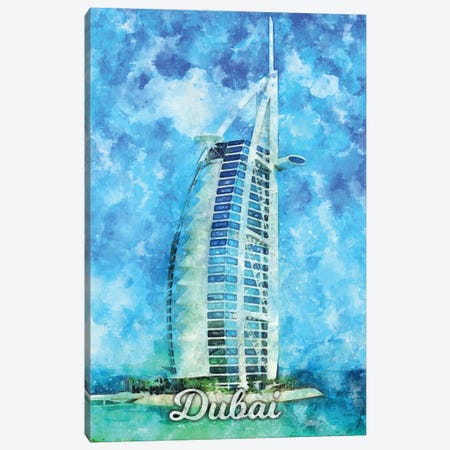 Dubai Canvas Print #DUR851} by Durro Art Canvas Art