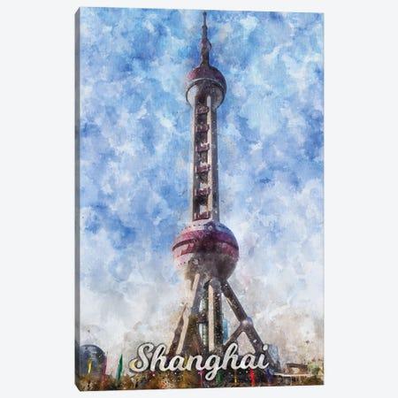 Shanghai Canvas Print #DUR858} by Durro Art Canvas Wall Art
